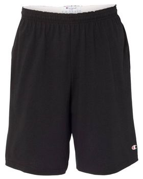 Champion 8180 Cotton Jersey Shorts with Pockets