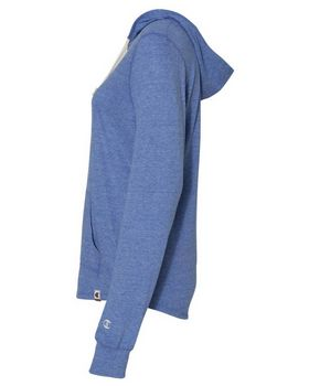 Champion AO150 Womens Triblend Hooded Pullover