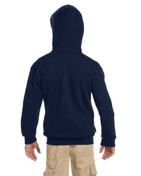 Champion S890 Youth 9 oz. 50/50 EcoSmart Full-Zip Hood
