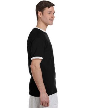 Champion T1396 5.6 oz. Cotton Tagless Ringer T-Shirt