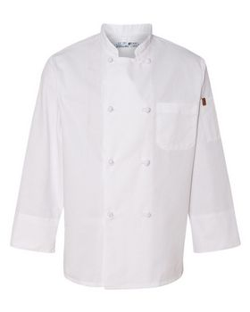 Chef Designs 0414 Chef Coat with Thermometer Pocket