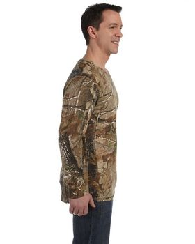 Code Five 3981 Licensed Realtree Camouflage L-Sleeve T-Shirt