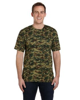 Code V 3906 Adult Camouflage Tee