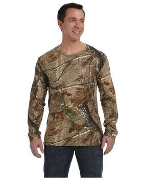 Code V 3981 Licensed Realtree Camouflage L-Sleeve T-Shirt