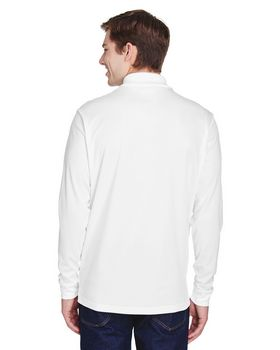 Core365 88192P Adult Pinnacle Long-Sleeve Polo