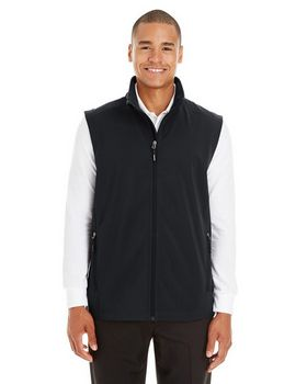 Core365 CE701 Mens Fleece Bonded Soft Shell Vest
