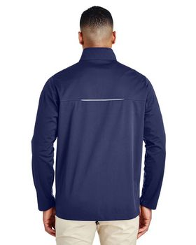 Core365 CE708 Mens Knit Tech Shell Pullover