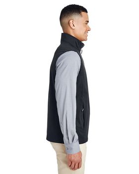 Core365 CE709 Mens Techno Lite Quarter Zip Vest