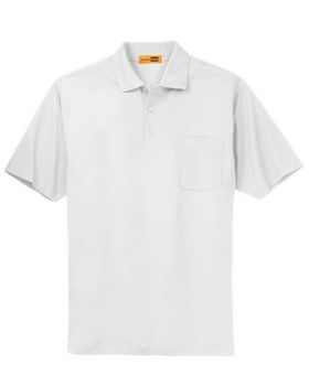 Cornerstone CS402P Industrial Pocket Pique Polo
