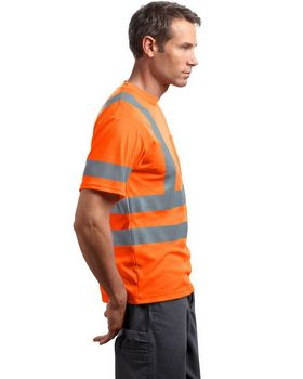 Cornerstone CS408 ANSI Class 3 S-Sleeve Snag-Resistant T-Shirt