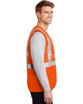 Cornerstone CSV405 ANSI Class 2 Mesh Back Safety Vest