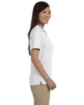 Devon & Jones D100W Ladies Pima Pique Short-Sleeve Polo