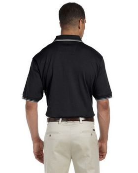 Devon & Jones D140 Mens Tipped Perfect Pima Interlock Polo
