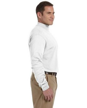 Devon & Jones D420 Adult Sueded Cotton Jersey Mock Turtleneck