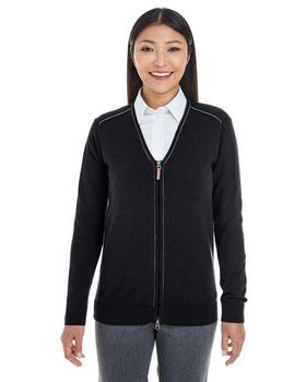 Devon & Jones DG478W Ladies Full-Zip Sweater