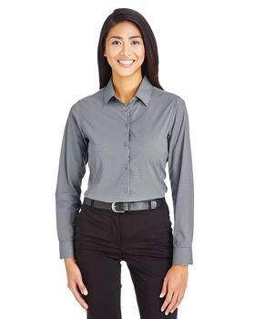 Devon & Jones DG535W Ladies Tonal Mini Check Shirt