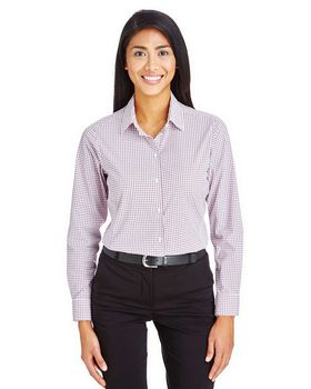 Devon & Jones DG540W Ladies Micro Windowpane Shirt