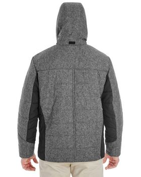 Devon & Jones DG710 Mens Insulated Fabric Block Jacket