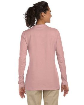 Devon & Jones Pink DP165W Stretch Jersey Tunic