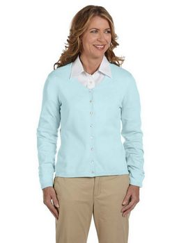 Devon & Jones Pink DP450W Cardigan Sweater