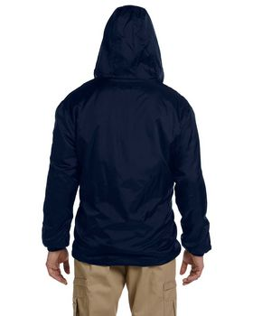 Dickies 33237 Fleece Lined Hooded Nylon Jacket