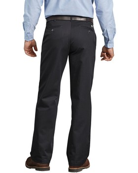 Dickies WP314 Relaxed Fit Cotton Flat Front Pant