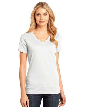 District DM1170L - Ladies V-Neck Tee