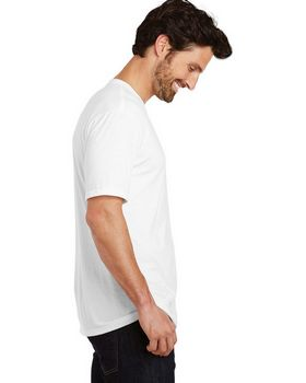 District Made DM130 Mens Tri Crew Tee
