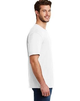 District DM3000 Mens Super Slub Crew Tee