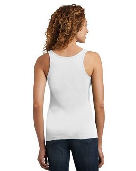 District Made DM403 Ladies Mini Rib Racerback Tank