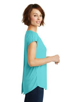 District DM416 Ladies Cross-Back Tee