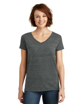 District Made DM465 Ladies V-Neck Tee