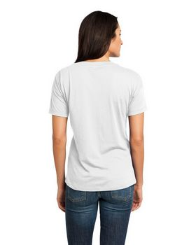 District Made DM480 Ladies V-Neck Tee