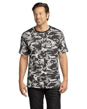 District DT104C S-Sleeve Camo Perfect Tee