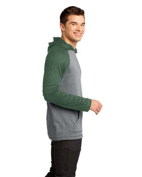 District DT128 Young Mens Raglan Hoodie