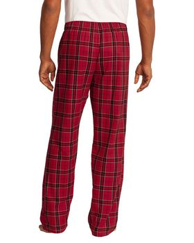 District DT1800 Young Mens Flannel Plaid Pant