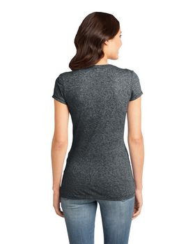 District DT261 Juniors Microburn V-Neck Tee