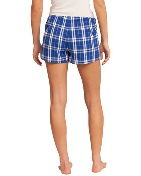 District DT2801 Juniors Flannel Plaid Boxer