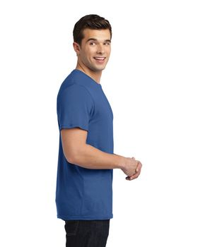 District DT4000 Young Mens Vintage Wash Crew Tee