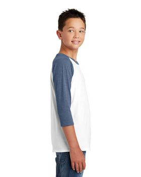 District DT6210Y Boys Raglan T-Shirt