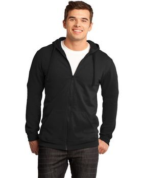 District DT800 Young Mens The Concert Fleece Hoodie