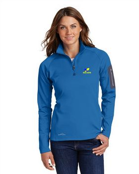 Eddie Bauer EB235 Ladies 1/2-Zip Fleece Jacket