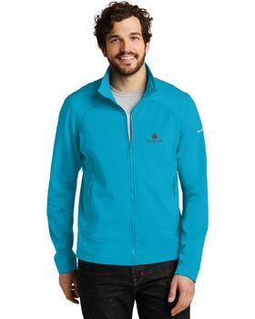 Eddie Bauer Logo Embroidered Full-Zip Fleece Jacket