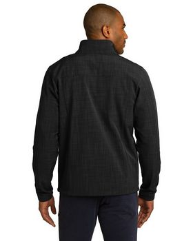 Eddie Bauer EB532 Shaded Crosshatch Shell Jacket