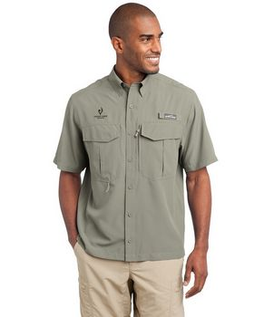 Eddie Bauer EB602 Short Sleeve Performance Fishing Shirt