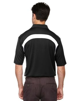 Extreme 85105 Mens Eperformance Color Block Textured Polo