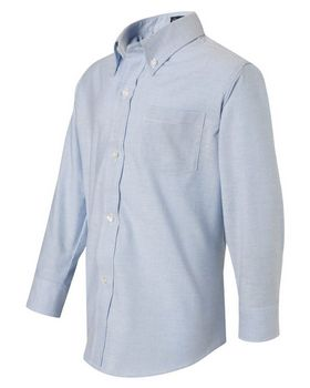 French Toast E9002 Boys Long Sleeve Oxford Shirt