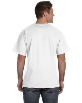 Fruit Of The Loom 39VR 100% Heavy Cotton HD V-Neck T-Shirt