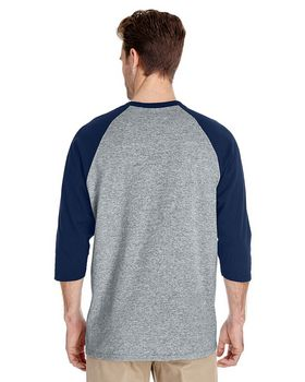 Gildan 5700 Heavy Cotton Adult 3/4-Sleeve Raglan T-Shirt