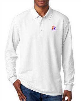 Gildan 72900 DryBlend Adult Long-Sleeve Polo